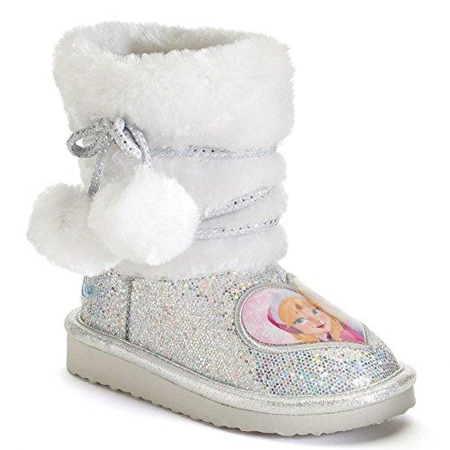Disney S Frozen Anna And Elsa Toddler Girls Glitter Boots