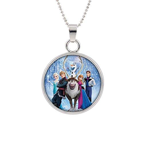 Frozen Disney Pendant Necklace TV Movies Classic Cartoons